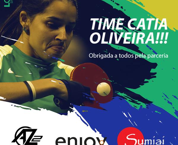 Parceiros da Atleta Catia Oliveira